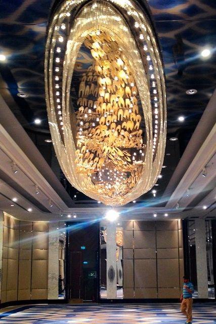 Now that's a chandelier. Photo courtesy of Mehmet Guven at Hyatt Regency Istanbul.