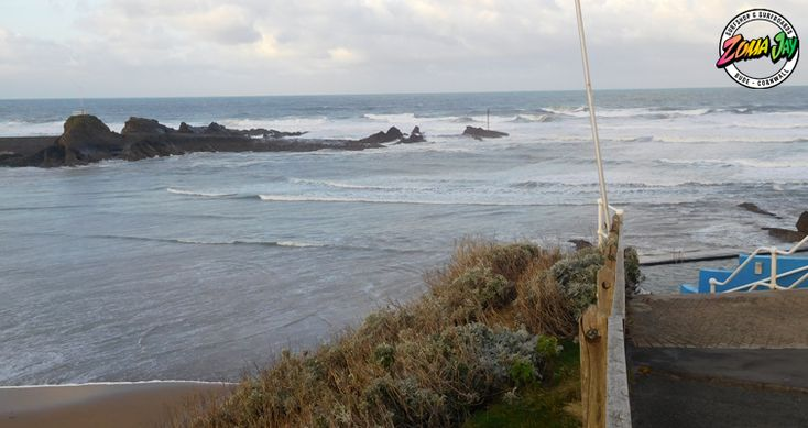 Another messy 5ft today - those winds are beginning to turn northerly and not as forceful as yesterday  Maybe check out high tide in the bay however don't count on it as those winds will be coming in all day  High Tide (am): 05:59 (8.2m) Low Tide (am): 12:28 High Tide (pm): 18:25 (8.1m) Low Tide (pm): 00:45  Spring tides at the moment so stay away from that low tide!  Check out our full surf report and 7 day report here: https://www.zumajay.co.uk/surf-report