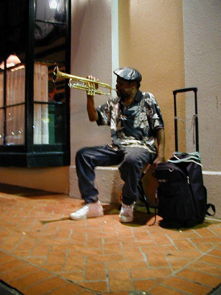 Street Jazz Musician