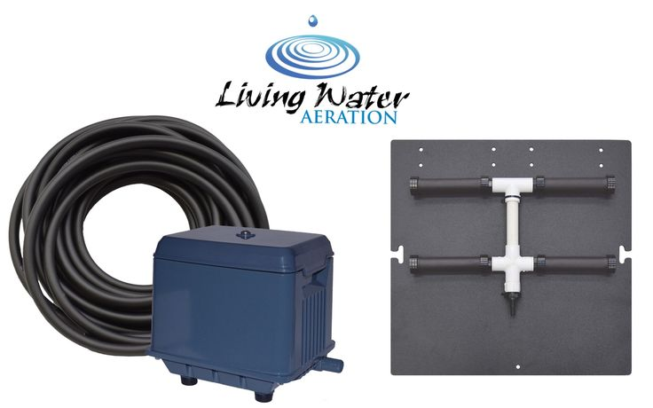 Shallow Pond Aerator Kit - for ponds up to 3/8 acre