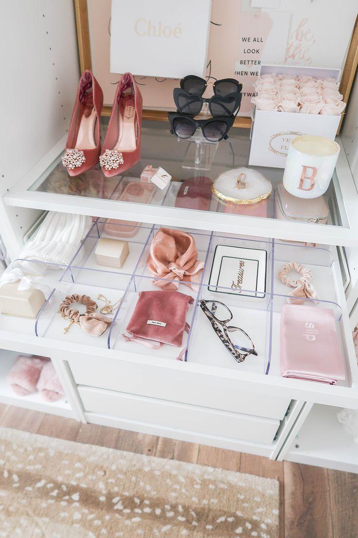 Cloffice Makeover Reveal Wardrobe room, Ikea pax, Small