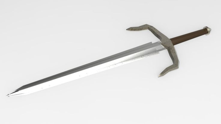 Worn Sword, Colin Flagman on ArtStation at https://www.artstation.com/artwork/worn-sword