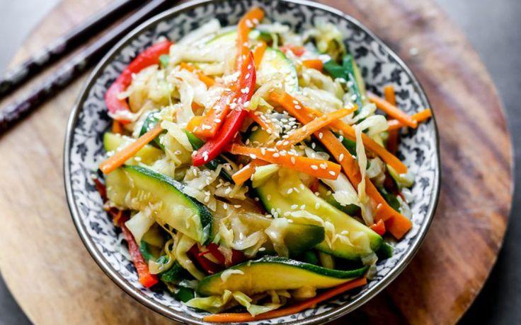 Vegetable Teppanyaki: Lightly Fried Japanese Vegetables [Vegan, Gluten-Free]   One Green Planet