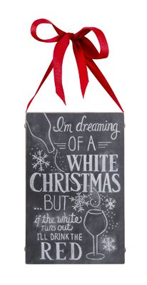 I'm dreaming of a white Christmas... but if the white runs out, I'll take the red. #Christmas #Decor