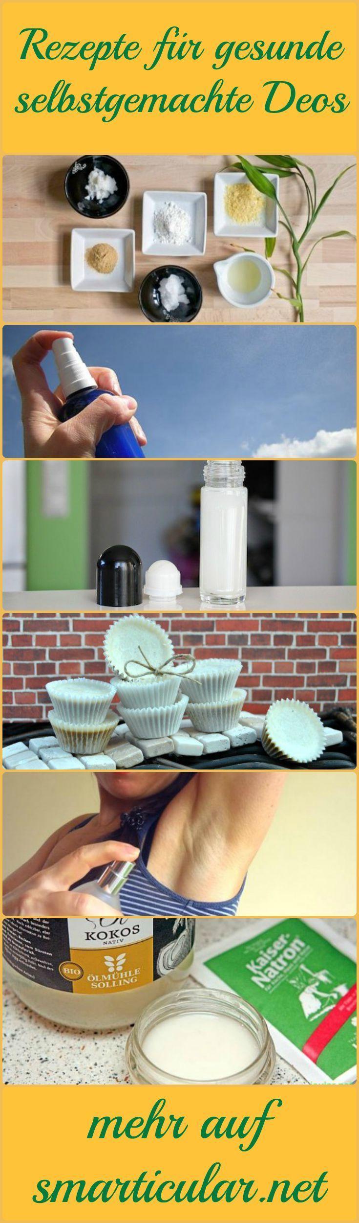 Herkömmliche Deodorants sind stark umstritten! Alternativen ohne Aluminium, Triclosan oder EDT sind meist teuer. Hier die besten Rezepte zum Selbermachen!: