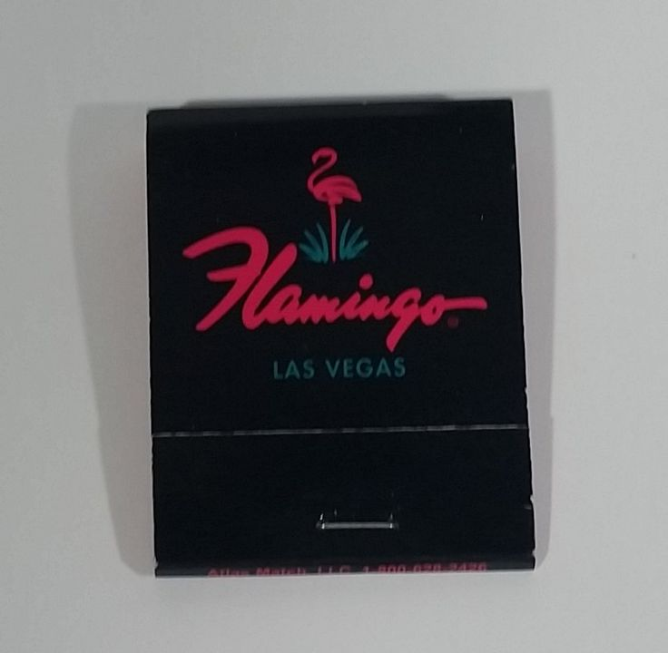 The Flamingo Hotel & Casino Las Vegas, Nevada Black Souvenir Promotional Match Pack - Full https://treasurevalleyantiques.com/products/the-flamingo-hotel-casino-las-vegas-nevada-black-souvenir-promotional-match-pack-full #TheFlamingo #Flamingo #Hotel #Casino #LasVegas #Nevada #Souvenirs #Promotional #Travel #Travelling #Tourism #Collectibles #Promo #Matches #MatchPacks #Gambling