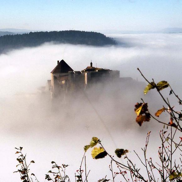 Haut Doubs   Pontarlier  le fort de Joux