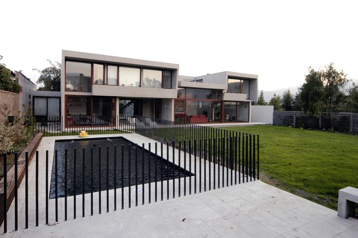 Spanish architects, house in Chile: Mas y Fernandez Arquitectos