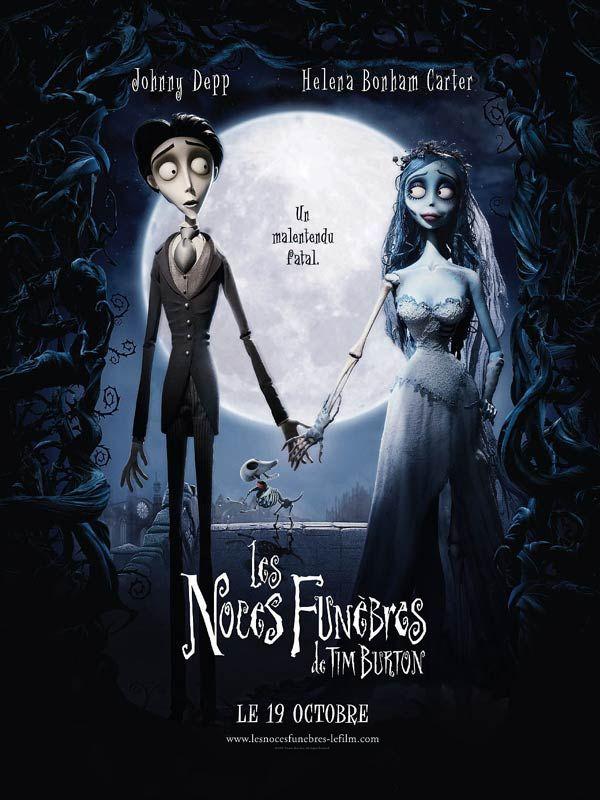 30 octobre : Les Noces funèbres de Tim Burton et Mike Johnson (2005)