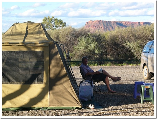 Kings Canyon Camping Area, Northern Territory