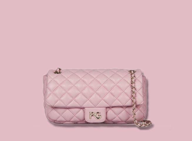 Purificacion Garcia - Pink clutche