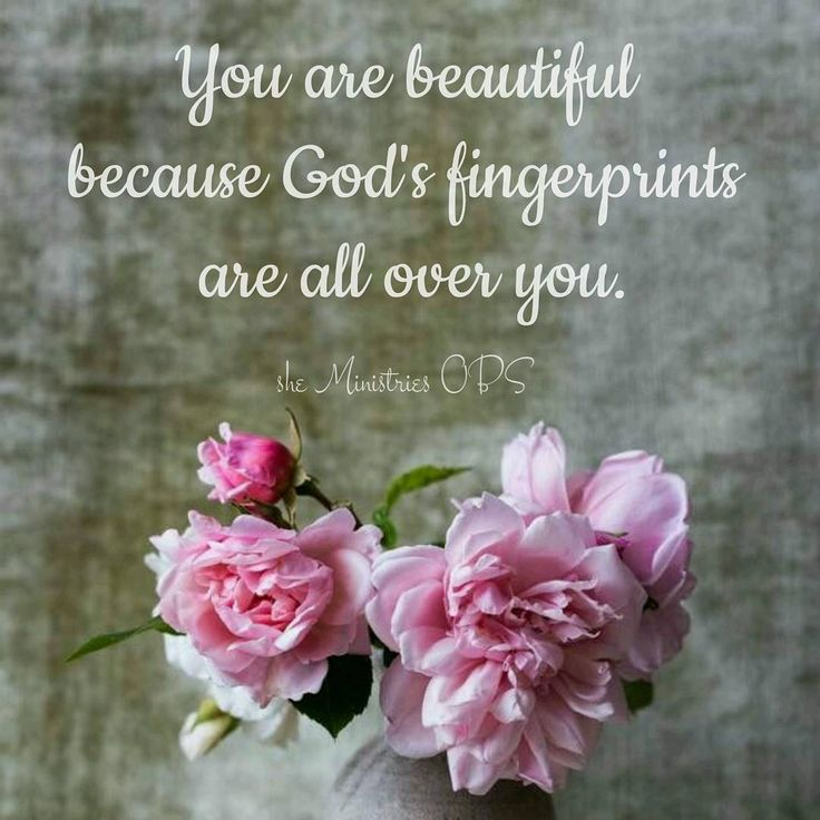 "139 Likes, 4 Comments - she Ministries OBS (@sheministriesobs) on Instagram: ""You are beautiful because God's fingerprints are all over you.  Have a blessed weekend ladies, we…"""