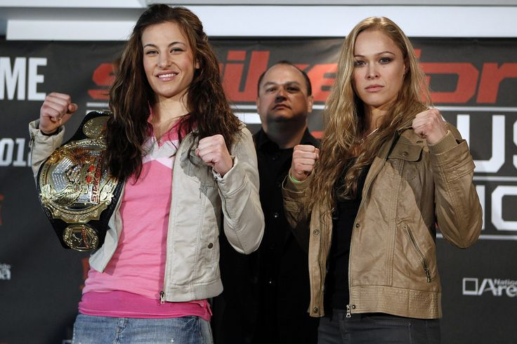https://flic.kr/p/bzPyin | Miesha Tate vs Ronda Rousey | Photo by: Esther LIN / STRIKEFORCE