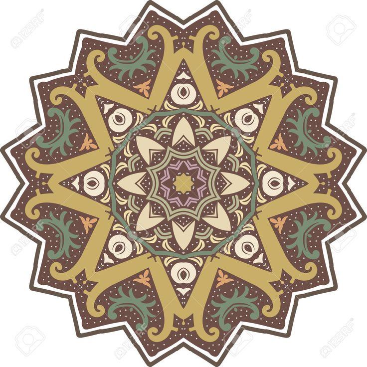 50347247 Mandala ethnic indian illustration design