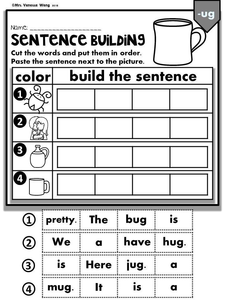 Phonics Cvc Short Vowels Sentence Building Kindergarten First Grade Cvc Short Vowels Practice With Fun And Engagin Sentence Building Cvce Words Phonics Cvc Worksheets for kindergarten sentence