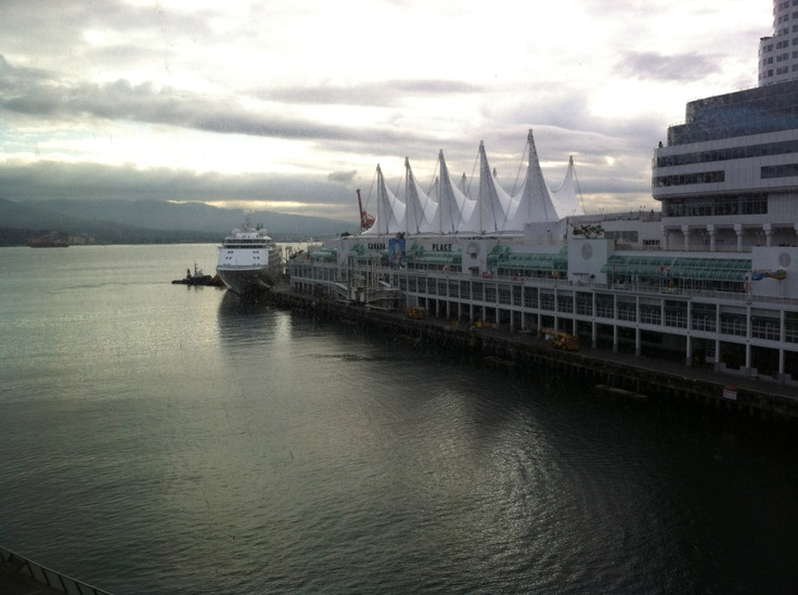 Beautiful View from Vancouver Convention Centre for Grow2012 conference!