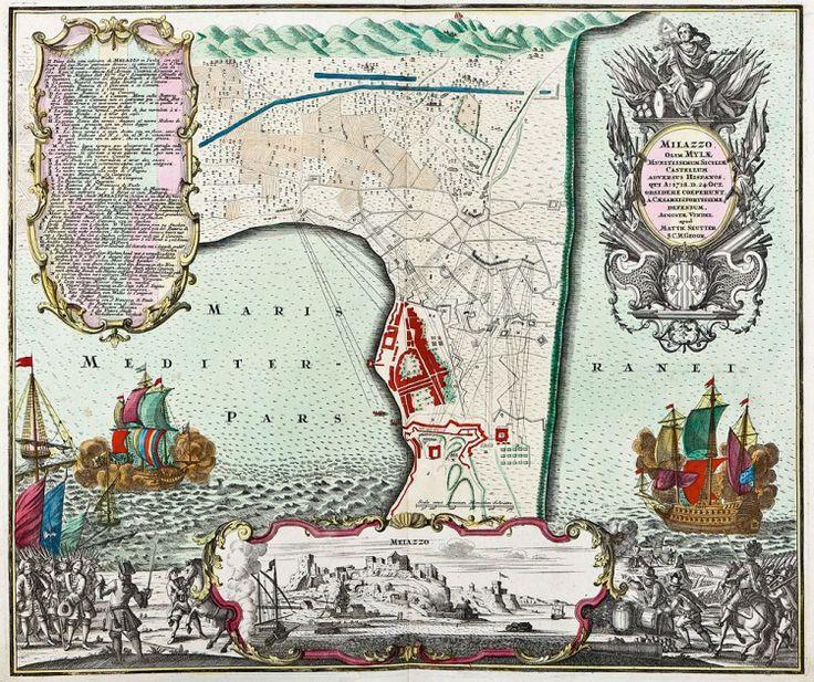 The Battle of Milazzo (c.1740 )