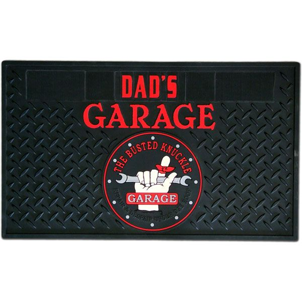 Personalized Garage Floor Mat Sainz Designs Pinterest