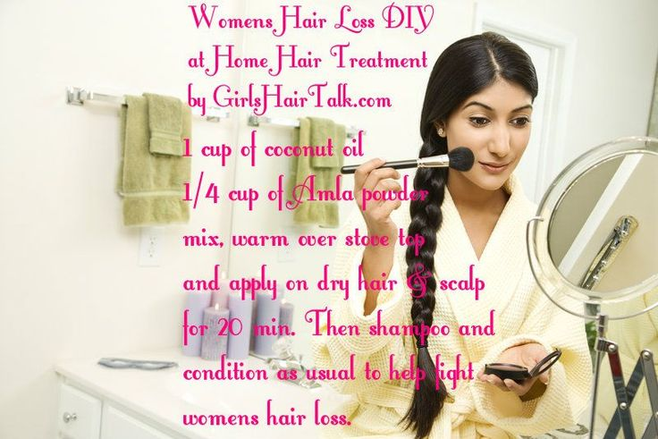 Ayurvedic Treatment For Hair Loss 3 DIY Female Hair Thinning Remedies at Home