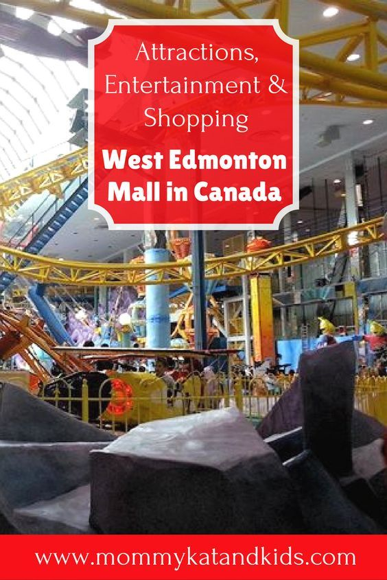 Fresh The West Edmonton Mall in Canada has so many awesome family friendly attractions to enjoy