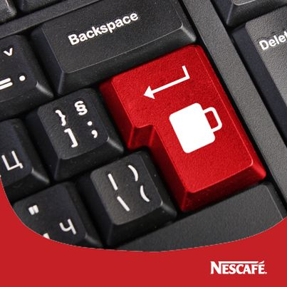 I dunno about the Nescafe crap, but this button is an excellent idea!!!