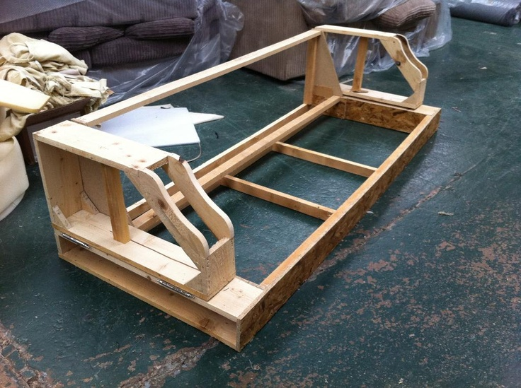 Prototype frame made from my detailed frame drawings.