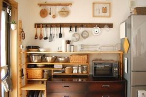 キッチン道具も立派なインテリアに : キッチンをカフェ風にしたい!DIYから置くだけのインテリアまでアイデア実例集 - NAVER まとめ