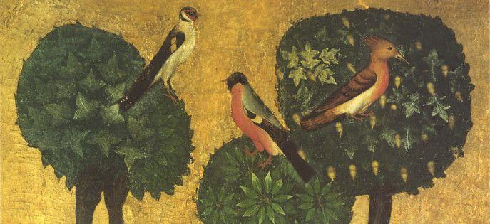 © Christ on the Mount of Olives, Detail – Vyssí Brod Alterpiece