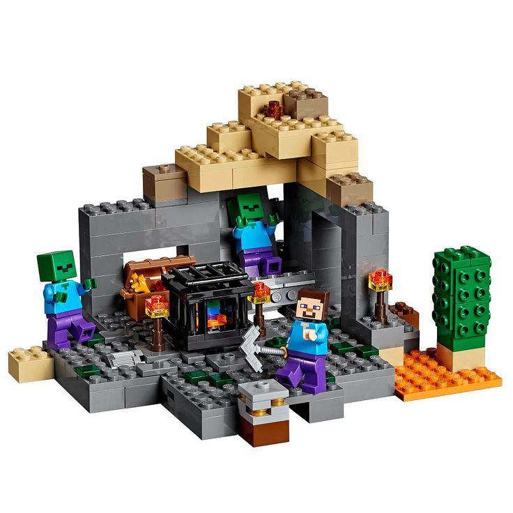 lego minecraft the dungeon 21119 aesthetic lighting minecraft indoors torches
