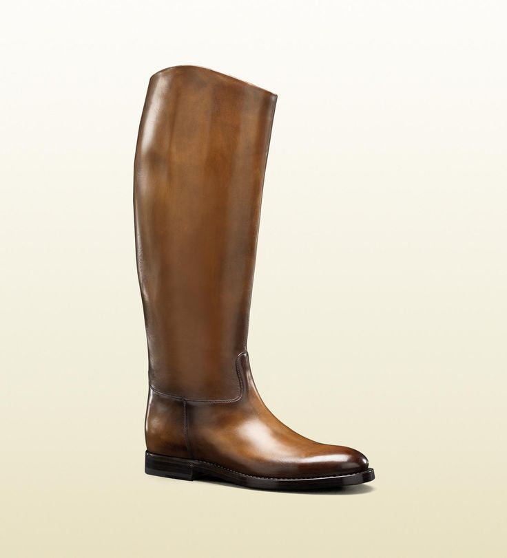men's '1921 collection' riding boot with gucci cres ...