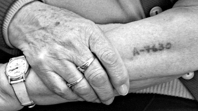Holocaust survivor  This is what happens when you de-humanize your fellow man...