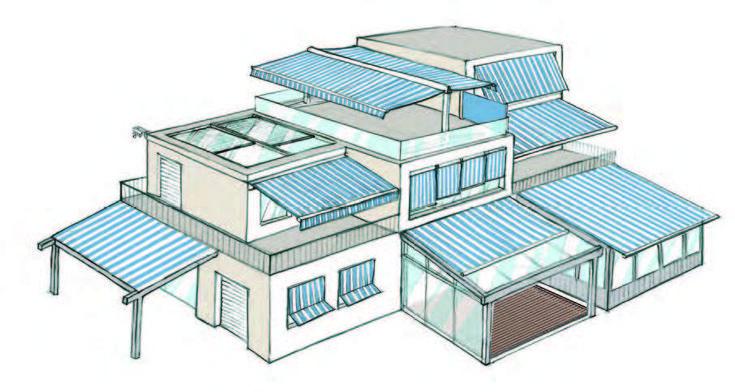 Markisen sind ein optimaler Sonnen-, Licht-, Wärme-, Wetter- und Objektschutz. Es gibt verschiedenste Varianten wie Gelenkarm-Markisen, Terrassenüberdachung oder Wintergarten-Markisen.