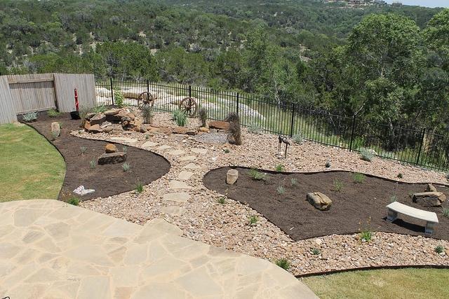 #Backyard #landscape #design work by DH Landscape Design