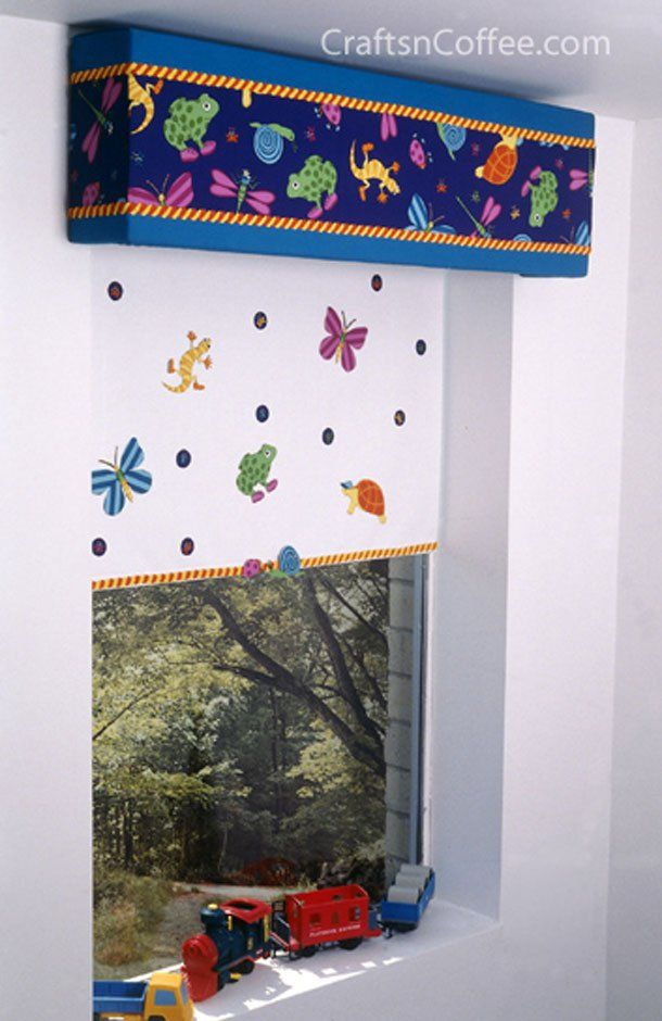 Leapinu0027 Lizards Window Cornice Only With Super Mario Fabric N Theme