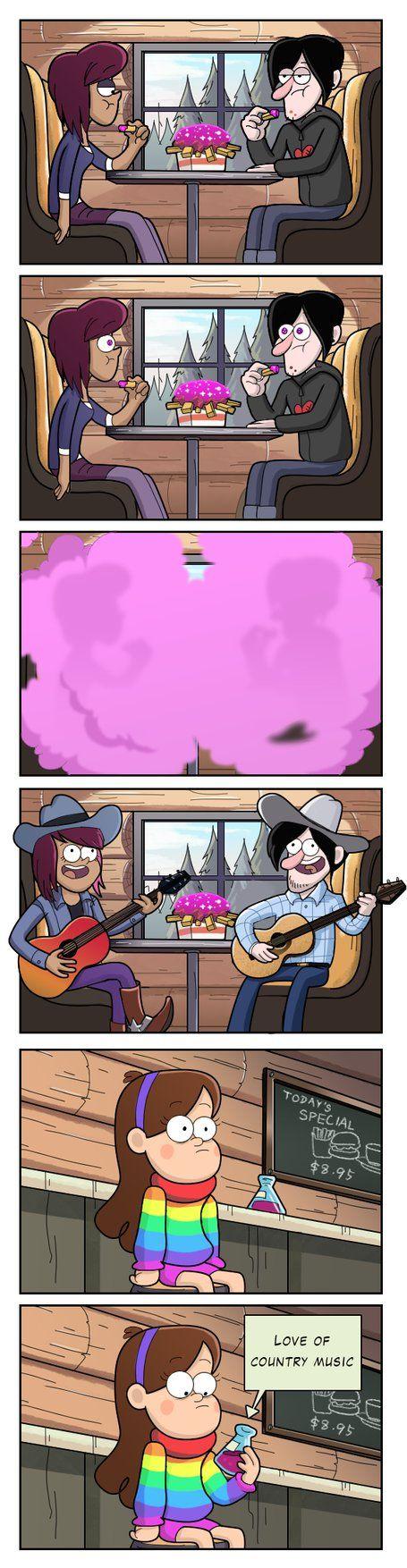 amor a la música countri