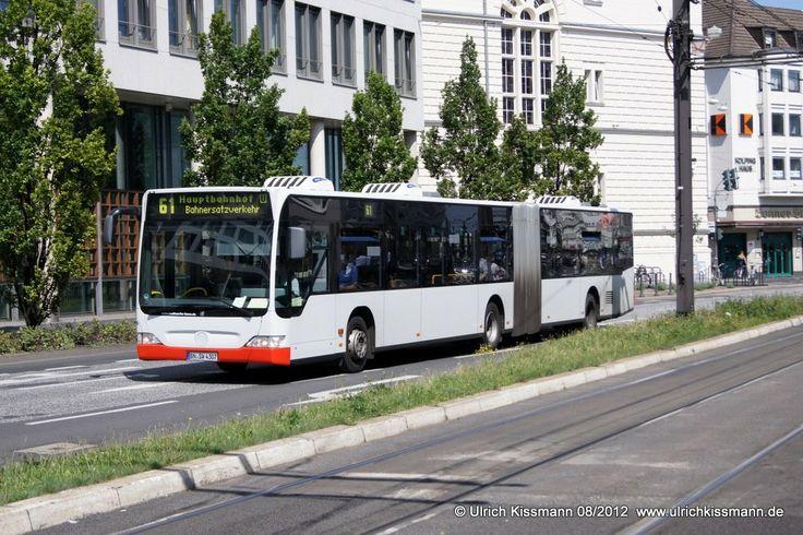 1006 Bonn Stadthaus 11.08.2012 - SEV auf der Linie 61