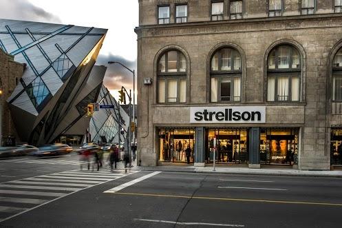 Strellson flagshipstore Toronto, 170 Bloor St West #strellson #toronto #museum