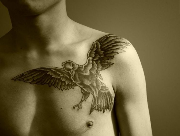 83 best images about raven tattoos on Pinterest | Ribs ...