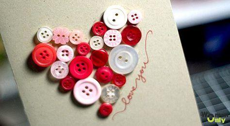Самодельные открытки на день святого Валентина