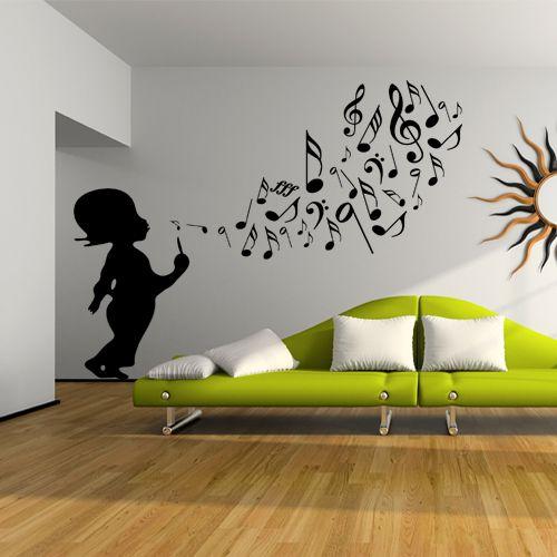 17 meilleures id es propos de stickers musique sur. Black Bedroom Furniture Sets. Home Design Ideas