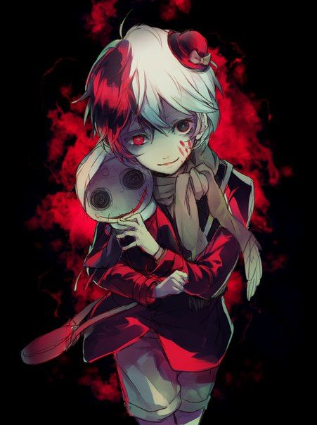 Yumeno Kyusaku. In my long list of creepy child characters, he's probably my favorite.
