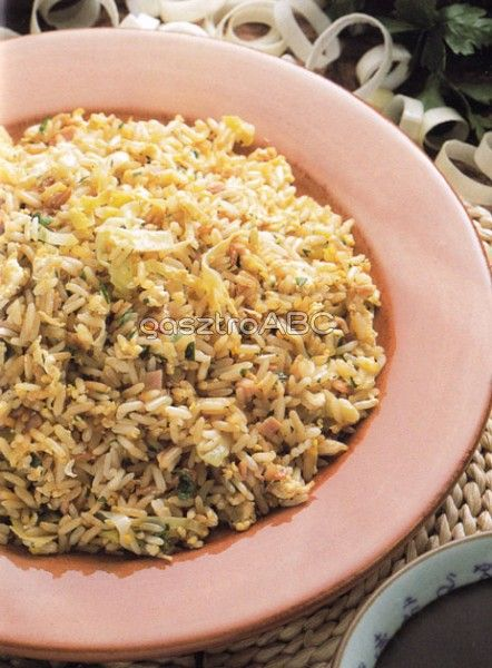 Kínai pirított rizs   Receptek