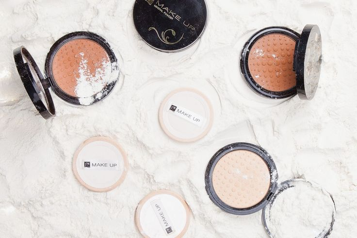 Pudry mineralne FM GROUP MAKE UP