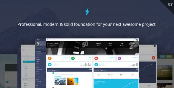 ProUI - Responsive Bootstrap Admin Template by pixelcave | ThemeForest