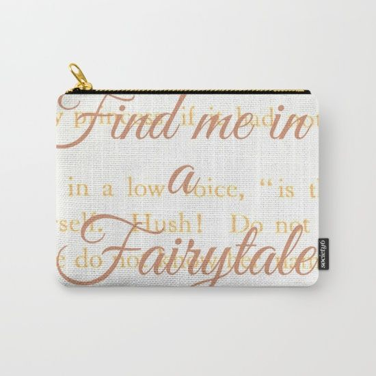 Fairytale design, also in print, mug, cushions and comforter. #society6 #script
