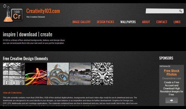 Cr103: miles de imágenes abstractas, texturas y vídeos de uso gratuito