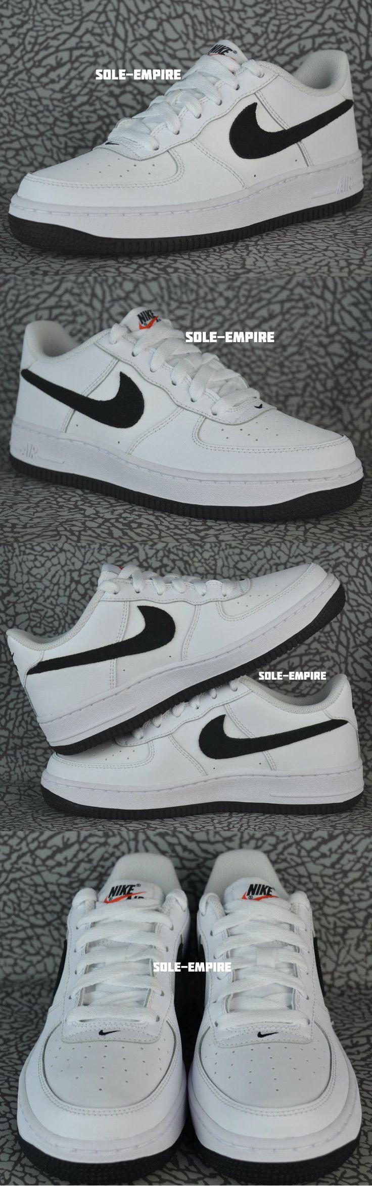i ragazzi le scarpe nike air force 1 57929: basso (gs) bianco...