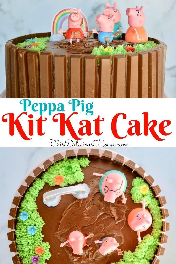 Peppa Pig Birthday Cake Recipe Pig Birthday Cakes Peppa Pig