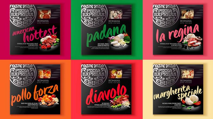 PizzaExpress' At Home range has been given a new look and feelby Bulletproof, which is hopingto introduce more Pizza Express restaurant customers to the supermarketproducts through its new design.