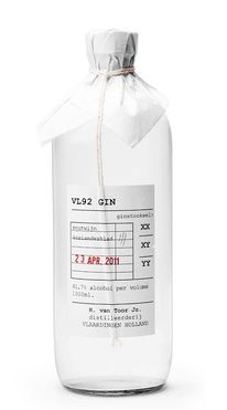 Package design - Gin bottle